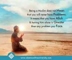 Allah is enough for me!