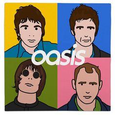 #album #vinyl #albumcover #albumart #music #lp #popart #mashup #oasis #blur #britpop #noelgallagher #liamgallagher
