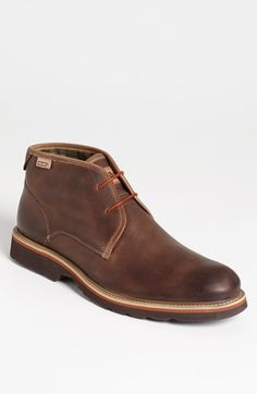 Free shipping and returns on PIKOLINOS 'Glasgow' Chukka Boot at Nordstrom.com. Earthy leather and casual, lightweight construction define a dialed-down chukka boot treated with Scotchgard™ for water-repelling durability.