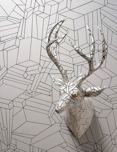 Faux taxidermy - Wookjae Maeng's camouflage
