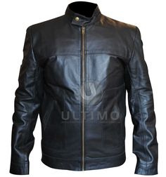 Tom Hardy Tuck Henson Geniune Black Leather Jacket  Many enjoyed this intriguing and highly exciting story of a love triangle, but a tasteful few happened to pay especially close attention to the fashionable leather jacket worn by Tom Hardy as he played the role of Tuck Henson. Tuck had a laid