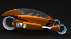 Street Runner – Dynamic Electric Vehicle by Brad Reynolds