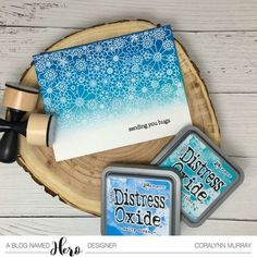 Hello everyone, Coralynn here and I'm back with a one layer card for our current challenge with CAS-usal Friday stamps and Hero Arts. I started out with an A2 sized card base and heat embosse…