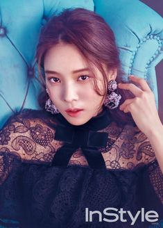 Yoon So Hee explains her ideal type in 'InStyle' | allkpop.com
