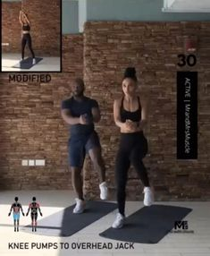 Fitness Workouts, Hiit Workout Videos, Full Body Hiit Workout, Hiit Workout At Home, Gym Workout For Beginners, Gym Workout Tips, Workout Challenge, Tabata, Burn Calories