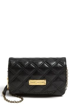 f7f478138a8  625, Baroque Bijoux Leather Crossbody Bag Black Brass by Marc Jacobs. Sold  by Nordstrom