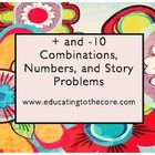 This lesson is made for the 2nd Grade Investigations Unit 3 Investigation 4.  This has everything for  10, place value, number line, and other stra...