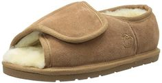Lamo Womens Ladys Open Toe Wrap Flat Chestnut XXLarge11 M US *** Check this awesome product by going to the affiliate link Amazon.com at the image.