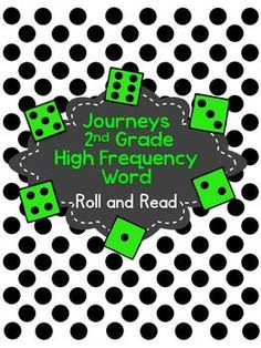 2nd grade High Frequency Roll and Read