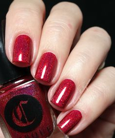 Cirque Colors - Madder - Holiday 2015 Collection swatches | Sassy Shelly