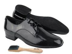"Men Ballroom Dance Shoes from Very Fine CD9416 Black Patent 1"" Heel with Shoes Brush - http://shoes.goshopinterest.com/mens/athletic-mens/ballet-dance-athletic-mens/men-ballroom-dance-shoes-from-very-fine-cd9416-black-patent-1-heel-with-shoes-brush/"