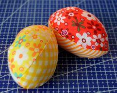 Návod na šitá velikonoční vajíčka