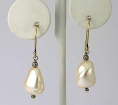 #Sterling Silver Dalia Mother of Pearl Nugget Drop Dangle #Earrings Retail $90 #Fashion http://www.ebay.com/itm/-/401208503026?roken=cUgayN&soutkn=dXoUzi via @eBay