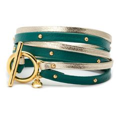 Graham Triple Wrap Teal, $44, now featured on Fab.