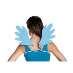 Add some wings and become rainbow dash./Wally's Party Factory #Rainbow #Dash #Womens #wings