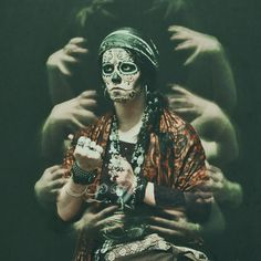 Dia de los Muertos by ShadyBlues on deviantART