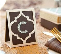 Make these beautiful place cards for your next dinner party!