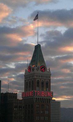 Oakland Tribune Tower, unknown photographer