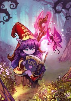 Oui je sais c'est pas comme mes elfes habituels, mais y a des oreilles pointues !