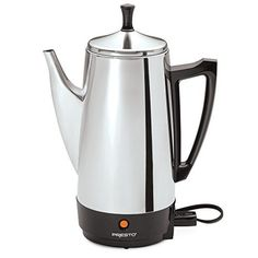 Presto 02811 12-Cup Stainless Steel Coffee Maker *** You can get more details by clicking on the image.-It is an affiliate link to Amazon.