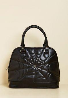 Banned I Thee Web Handbag $49.99 | ModCloth Halloween Shop 2017