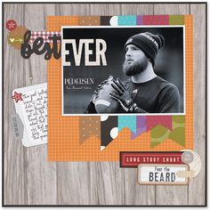 Beautiful scrapbook pages created by Karen Pedersen with our Fundamentals papers…