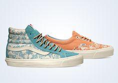 "Taka Hayashi x Vans Vault ""Sea Life Pack"" - SneakerNews.com"