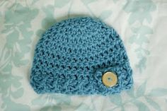 Cutest Baby Hat Patterns. EVER. And they are FREE!!