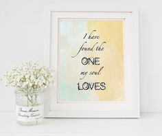 I have found the ONE my SOUL by ChampagneandIceCream on Etsy