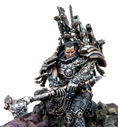 40k - Ferrus Manus, The Gorgon Primarch of the Iron Hands from Forge World