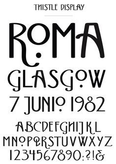 Image result for art nouveau type