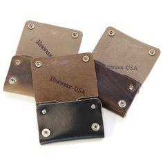 No. 514 - Small Trucker Wallet in Horween's Black