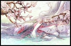 Hidan with FLOWERS