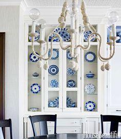 Blue Home Interior