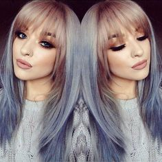 I want my bangs like this