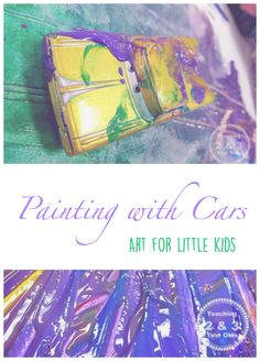 Transportation Art for Preschool - Teaching 2 and 3 Year Olds