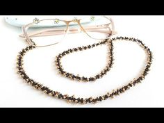 ЦЕПОЧКА ДЛЯ ОЧКОВ/Браслет/Цепочка для кулона/Серьги/Beaded chain/Eyeglass chain/Mask chain - YouTube Beaded Bracelets Tutorial, Master Class, Fashion Bracelets, Beaded Necklace, Hoop Earrings, Beads, Stylish, Handmade, Beautiful