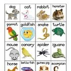Pet themed vocabulary words chart for your writing station or display. 16 pictures of different types of pets with labels. Aimed to develop your ...