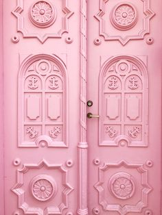 the most famous pink nautical door in tallinn, estonia | coco kelley