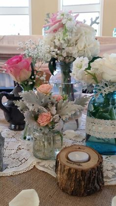 Gorgeous late summer color scheme with antique accents