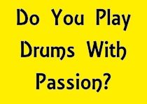 http://GlastonburyDrums.com Play Drums With Passion - #1HourNoPlan - Glastonbury Drums