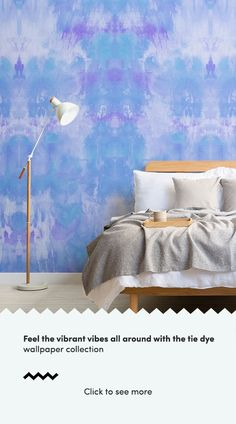 Tie dye is back on the design scene making waves in the fashion industry, and our radical new tie dye wallpaper range is bringing the revamped style to interiors in a modern, zestful way.  ~  #tiedye #tiedyewallpaper #fashiontrend #summertrend #2019trend #summer2019 Bright Wallpaper, Forest Wallpaper, Kids Wallpaper, Light Colors, Vibrant Colors, Childrens Shop, World Map Wallpaper, Watercolor Wallpaper, Purple Pattern