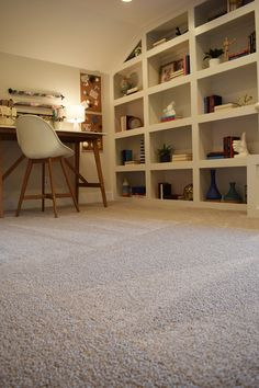 Best flooring for home office Laminate Get Crafty With Your Décor And Add Neutral Carpet That Will Match It All Theres Perfect Carpet Waiting For You At Riterug Flooring Pinterest 60 Best Home Office Ideas Images Desk Office Home Bedroom Decor