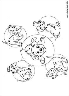 101 Dalmatians Coloring Pages 54