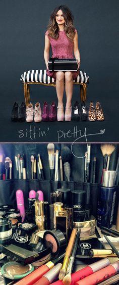 how to get rachel bilson's makeup look from her shoemint shoot!