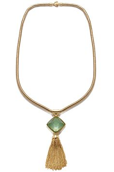Anne Klein 36-Inch Pendant Necklace, $50, available at Anne Klein.