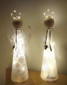 1 Bastelpackung Glücksengel Lisa mit Beleuchtung Make a fortune angel with lighting. Guardian angel with light and as a craft kit for crafting. Christmas Angels, Christmas Art, Christmas Decorations, Free To Use Images, Bottle Art, Craft Kits, Xmas Gifts, Decorative Bells, Diy And Crafts