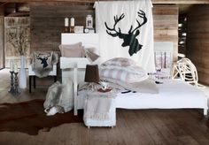 This winter IKEA takes your home into the cozy Swiss Alps. shares a glimpse of the IKEA limited chalet collection Chic Chalet, Chalet Style, Style At Home, Chalet Design, House Design, Chalet Interior, Interior Design, Home Fashion, My Dream Home
