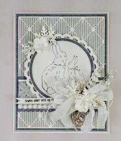 Vinterkort/Winter card Winter Cards, Card Making, Easter, Scrapbook, Frame, Inspiration, Home Decor, French Art, Noel