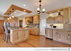 Attraktiv 15 Contemporary Wooden Kitchen Cabinets